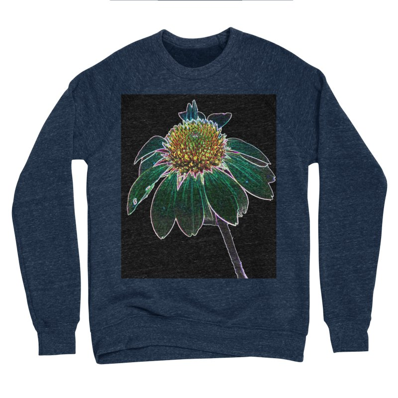 Glowing Bloom Women's Sponge Fleece Sweatshirt by designsbydana's Artist Shop