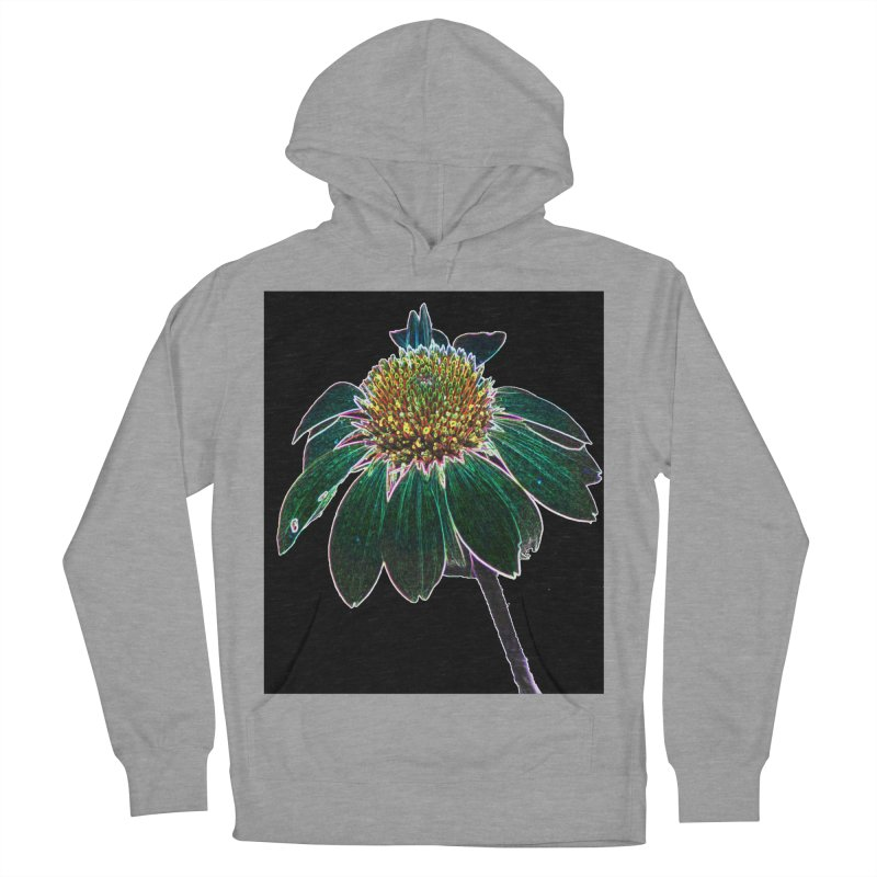 Glowing Bloom Women's French Terry Pullover Hoody by designsbydana's Artist Shop
