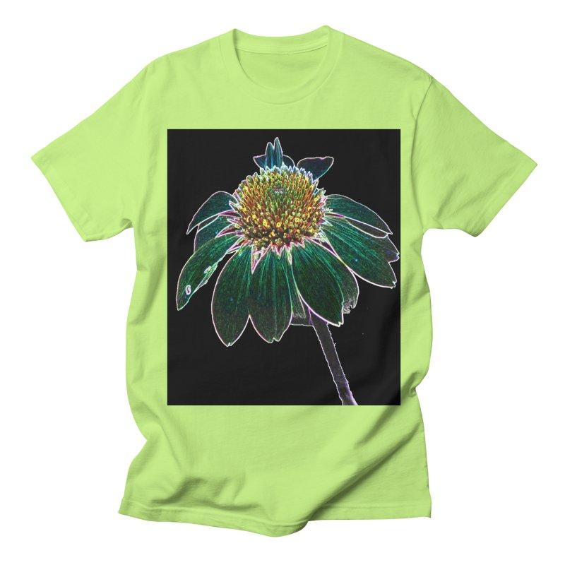 Glowing Bloom Women's Regular Unisex T-Shirt by designsbydana's Artist Shop