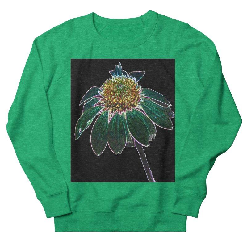 Glowing Bloom Women's Sweatshirt by designsbydana's Artist Shop