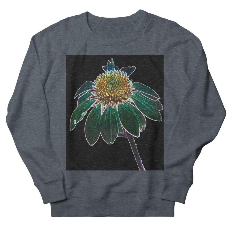 Glowing Bloom Women's French Terry Sweatshirt by designsbydana's Artist Shop