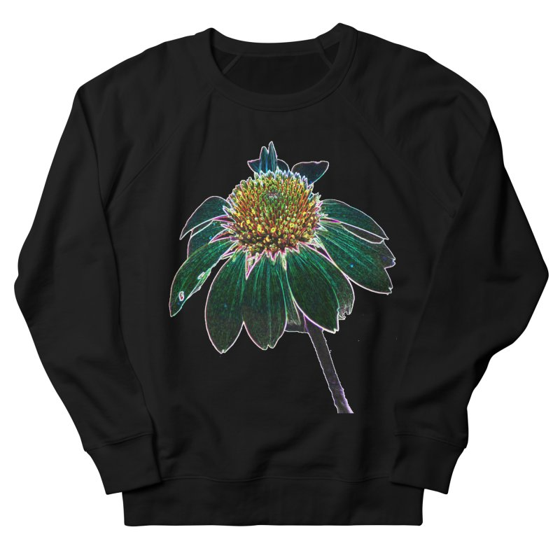 Glowing Bloom Women's French Terry Sweatshirt by designsbydana's Artist Shop