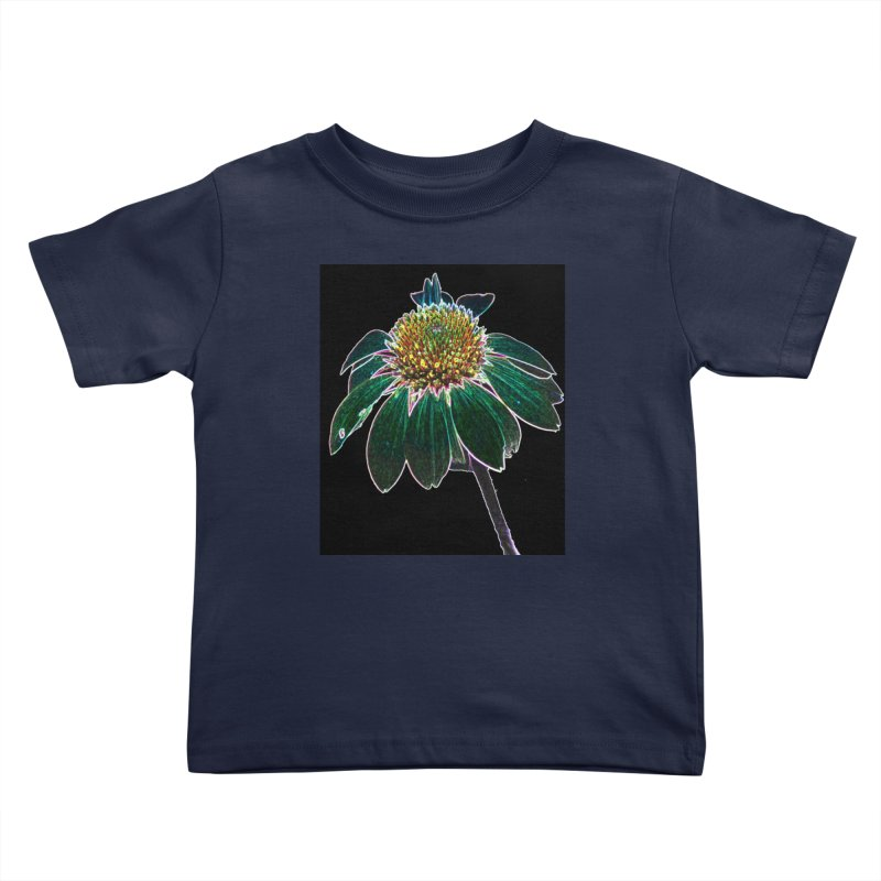 Glowing Bloom Kids Toddler T-Shirt by designsbydana's Artist Shop