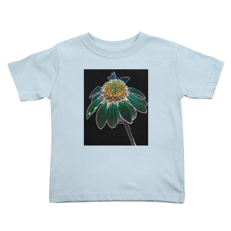 Glowing Bloom Kids Toddler T-Shirt by designsbydana's Artist Shop