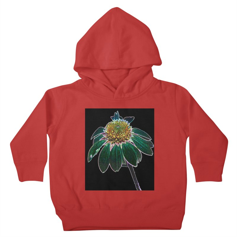 Glowing Bloom Kids Toddler Pullover Hoody by designsbydana's Artist Shop