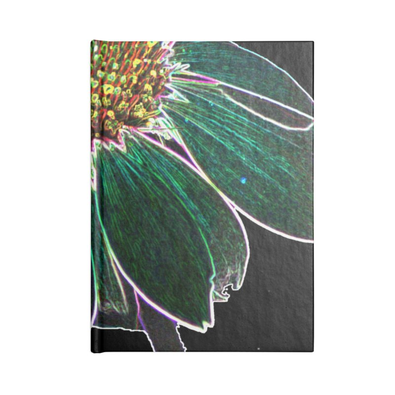 Glowing Bloom Accessories Lined Journal Notebook by designsbydana's Artist Shop
