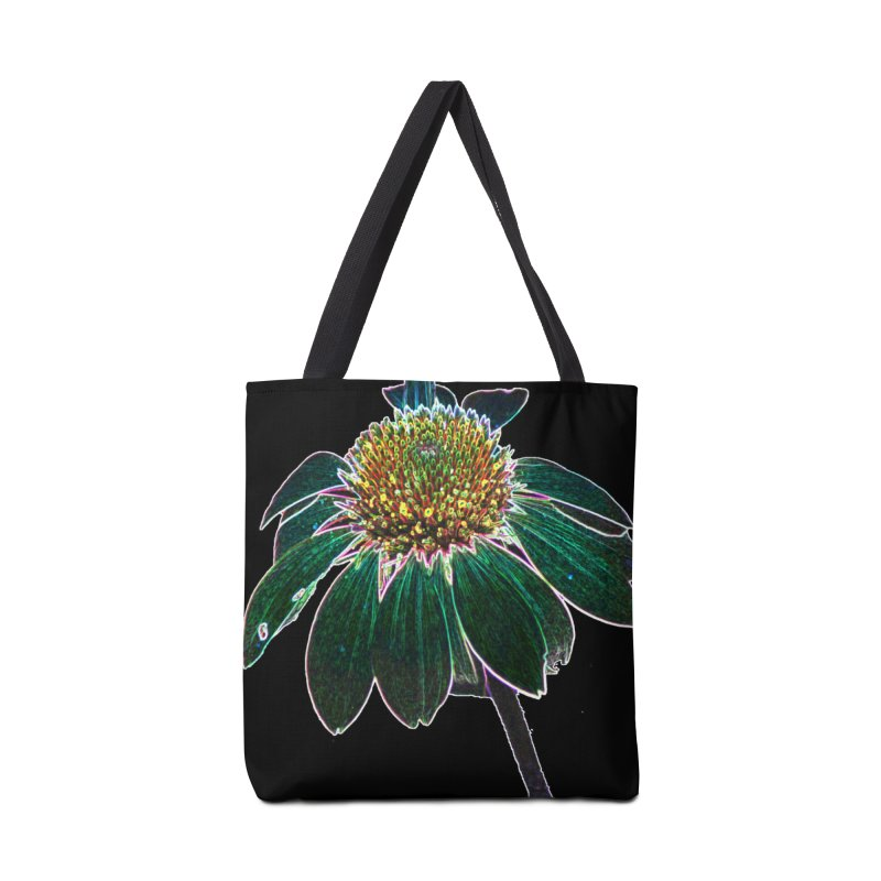 Glowing Bloom Accessories Tote Bag Bag by designsbydana's Artist Shop