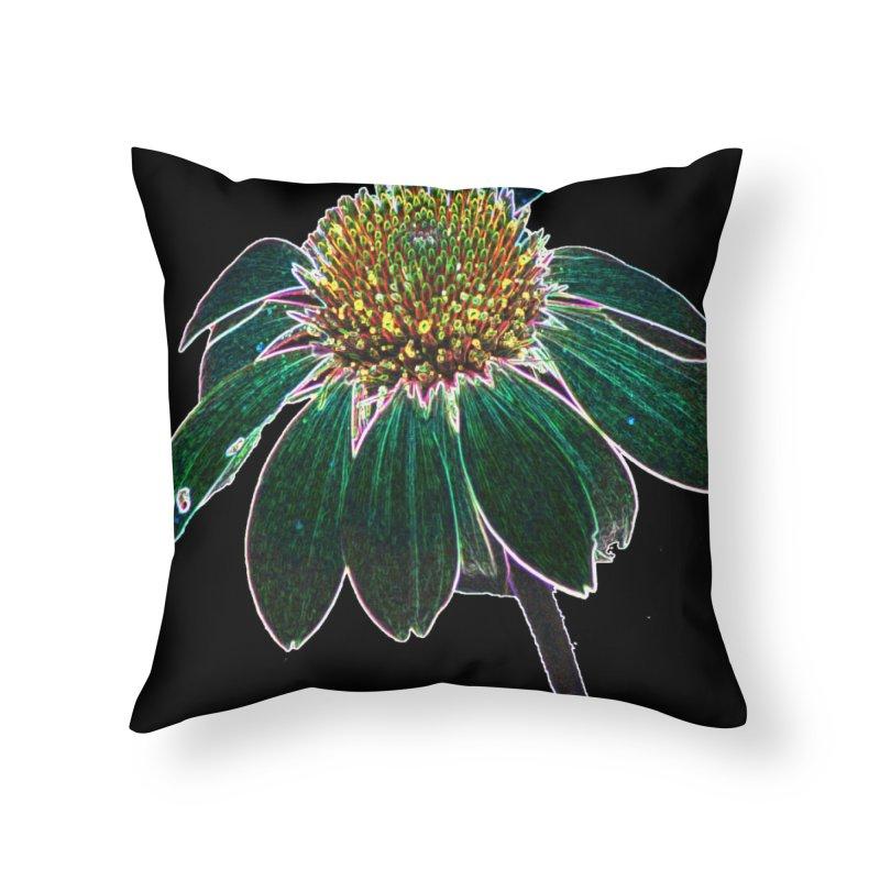 Glowing Bloom Home Throw Pillow by designsbydana's Artist Shop