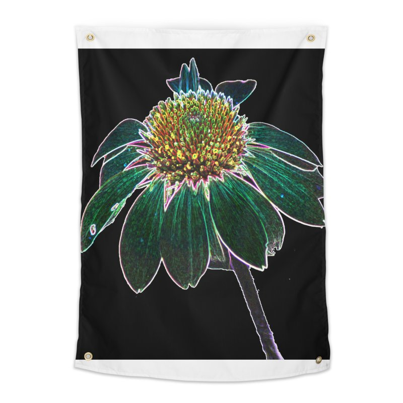 Glowing Bloom Home Tapestry by designsbydana's Artist Shop