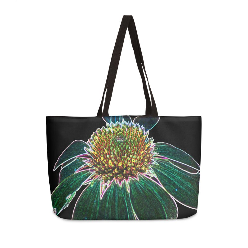 Glowing Bloom Accessories Weekender Bag Bag by designsbydana's Artist Shop