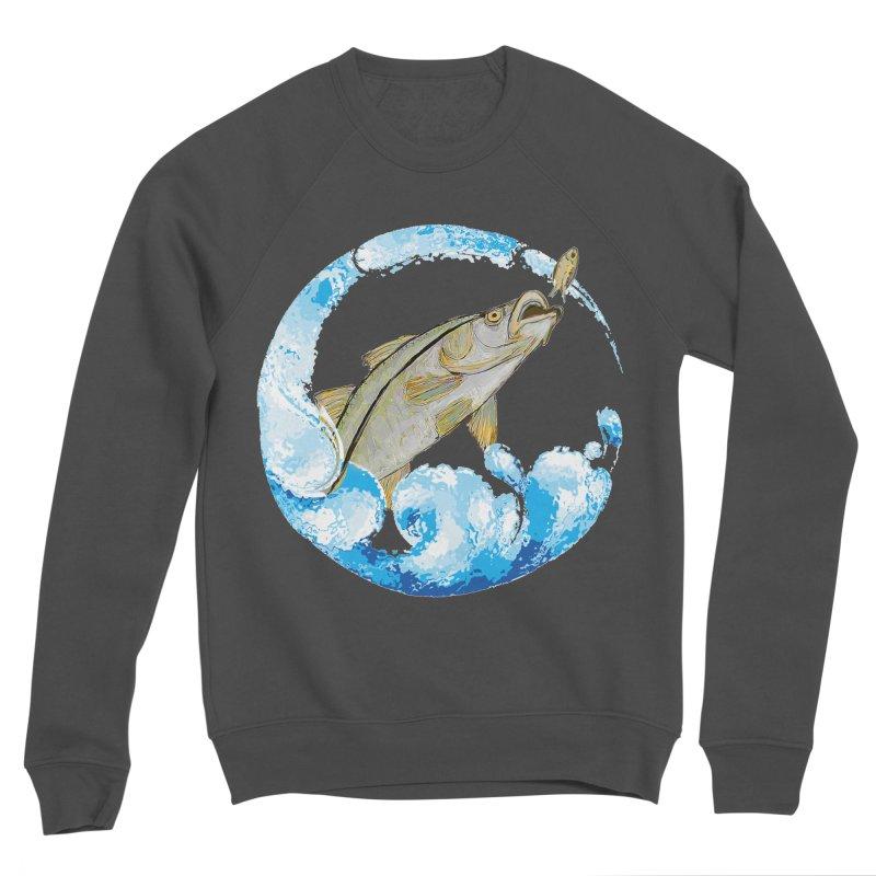 Leaping Snook Women's Sponge Fleece Sweatshirt by designsbydana's Artist Shop