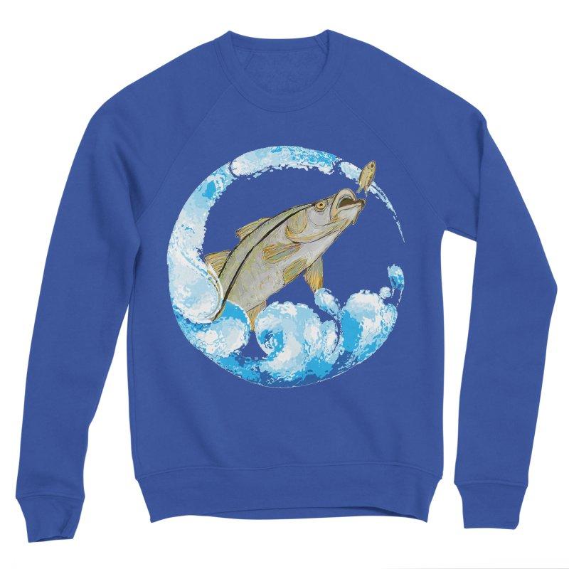 Leaping Snook Men's Sweatshirt by designsbydana's Artist Shop