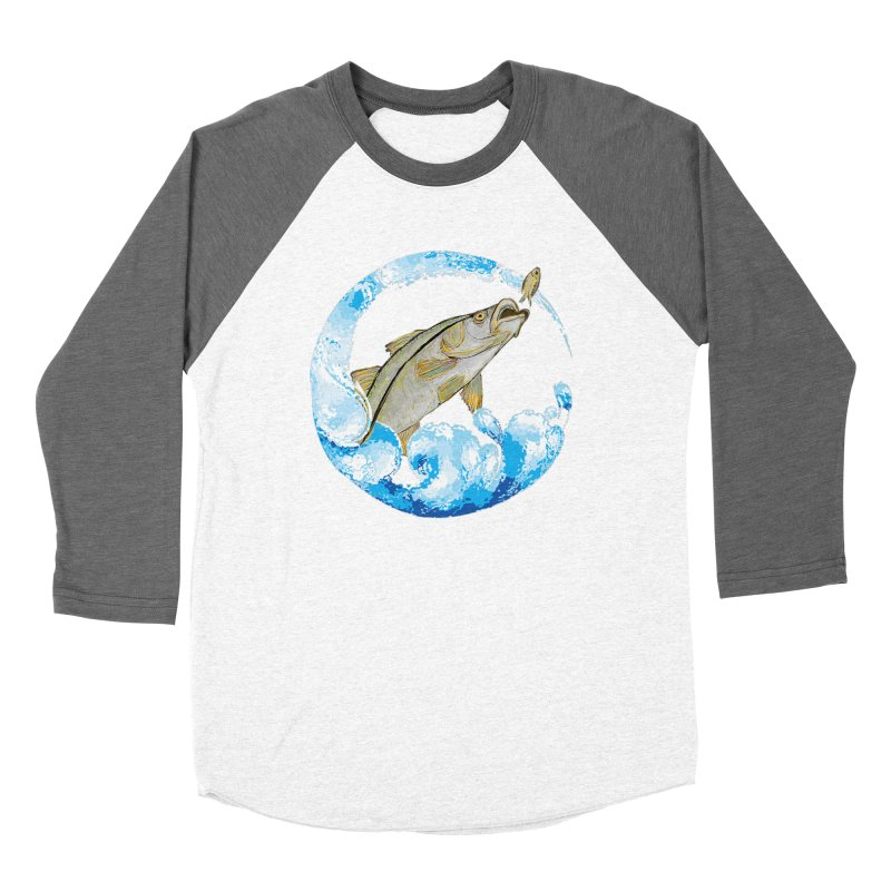 Leaping Snook Women's Longsleeve T-Shirt by designsbydana's Artist Shop