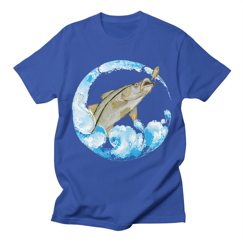 Leaping Snook Women's Regular Unisex T-Shirt by designsbydana's Artist Shop