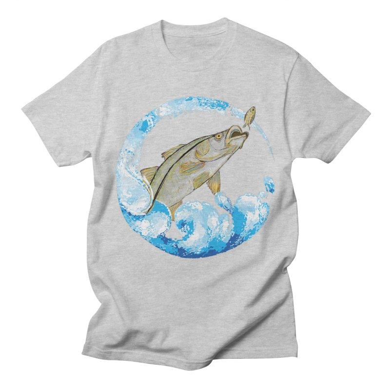 Leaping Snook Women's Regular Unisex T-Shirt by designsbydana's Artist Shop