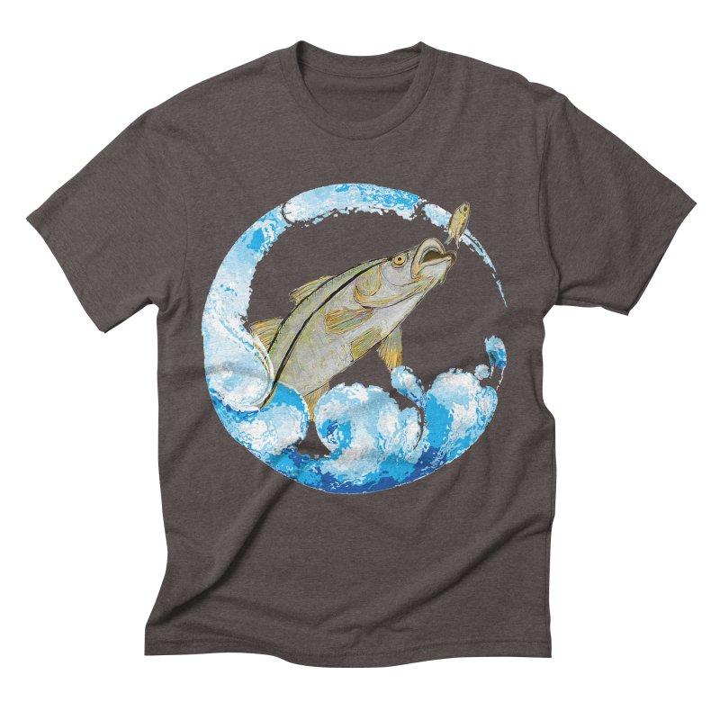 Leaping Snook Men's T-Shirt by designsbydana's Artist Shop