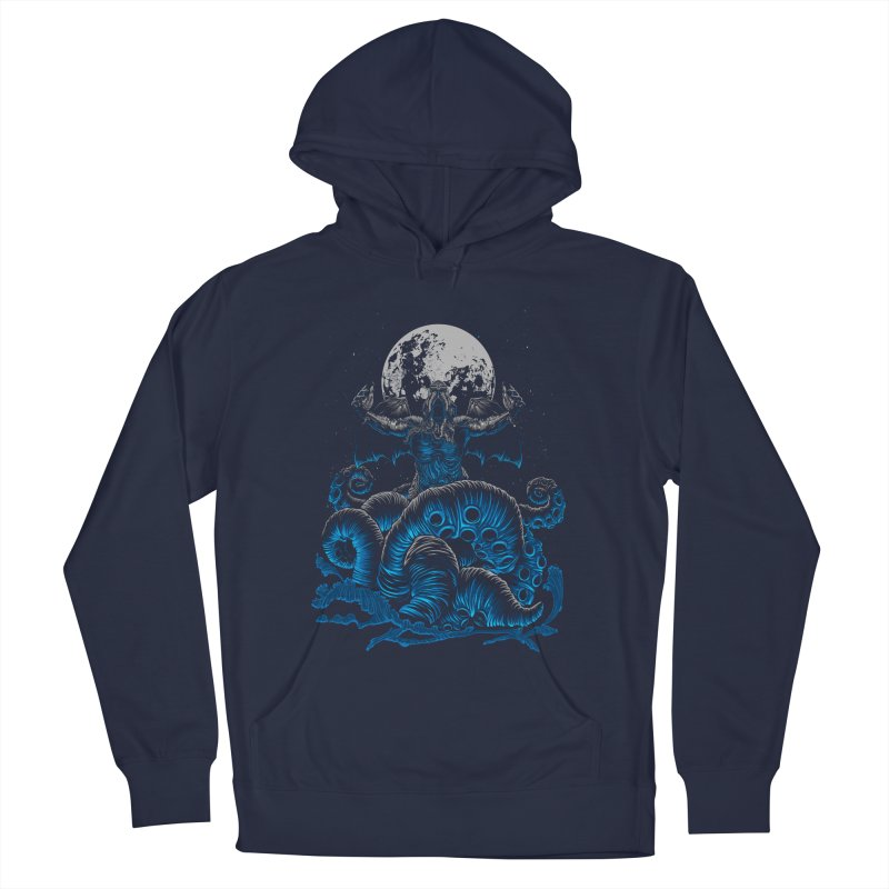 Nyarlathotep Men's French Terry Pullover Hoody by DesignsbyReg