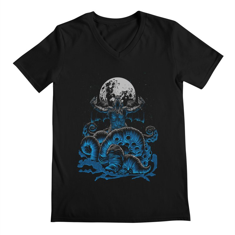 Nyarlathotep Men's V-Neck by DesignsbyReg