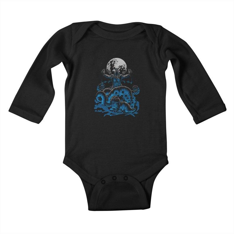 Nyarlathotep Kids Baby Longsleeve Bodysuit by DesignsbyReg