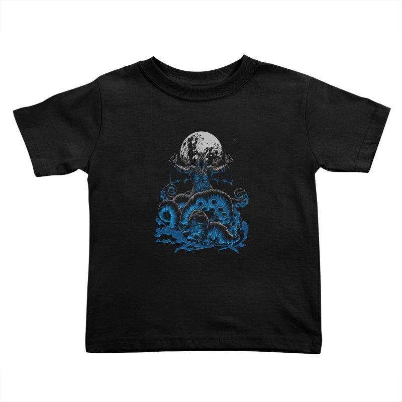 Nyarlathotep Kids Toddler T-Shirt by DesignsbyReg