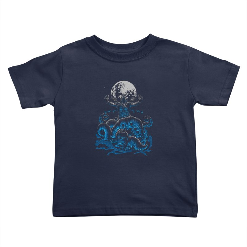 Nyarlathotep Kids Toddler T-Shirt by DesignsbyReg