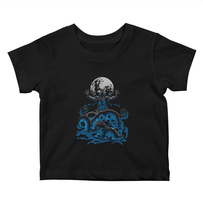 Nyarlathotep Kids Baby T-Shirt by DesignsbyReg