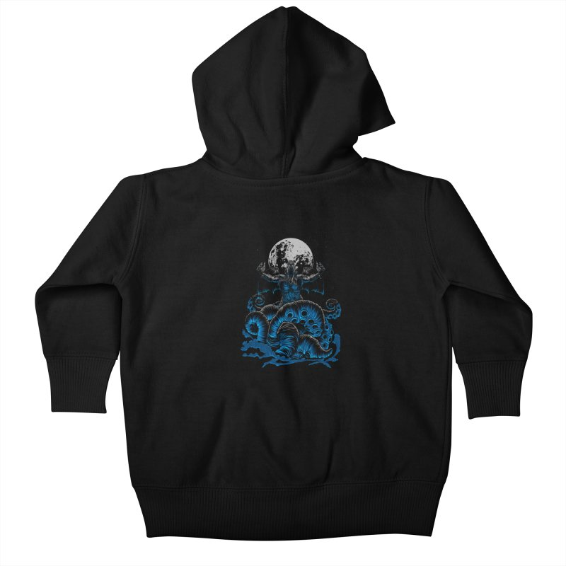 Nyarlathotep Kids Baby Zip-Up Hoody by DesignsbyReg