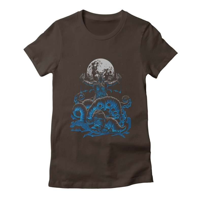 Nyarlathotep Women's Fitted T-Shirt by DesignsbyReg