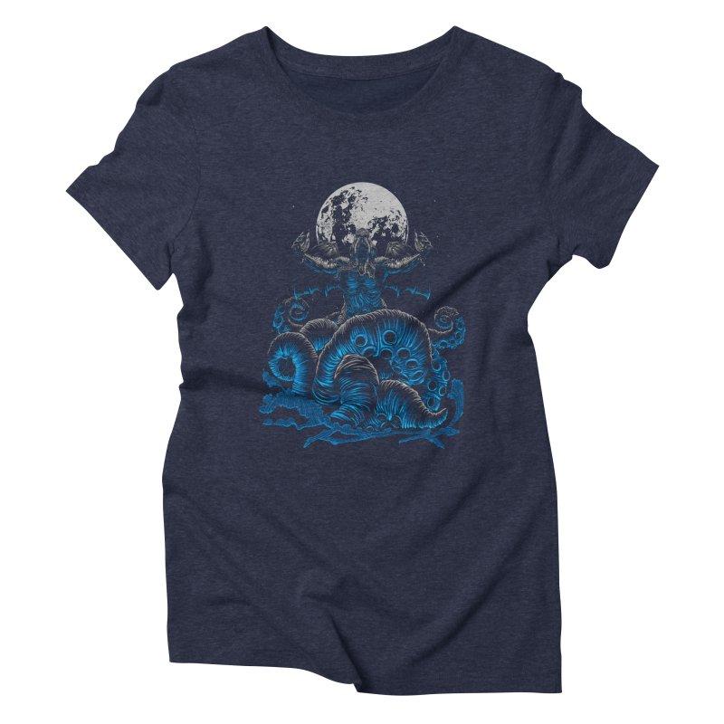 Nyarlathotep Women's Triblend T-Shirt by DesignsbyReg