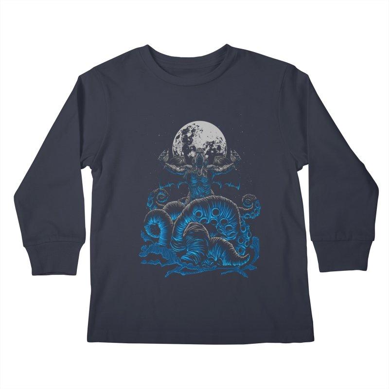 Nyarlathotep Kids Longsleeve T-Shirt by DesignsbyReg