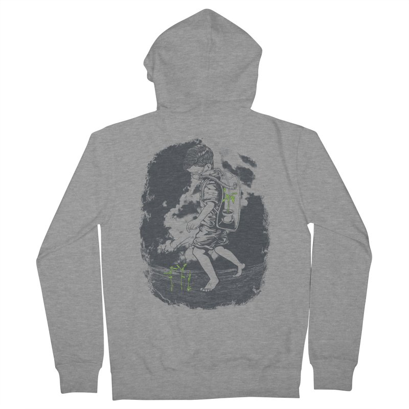 Before it's too late... Men's French Terry Zip-Up Hoody by DesignsbyReg