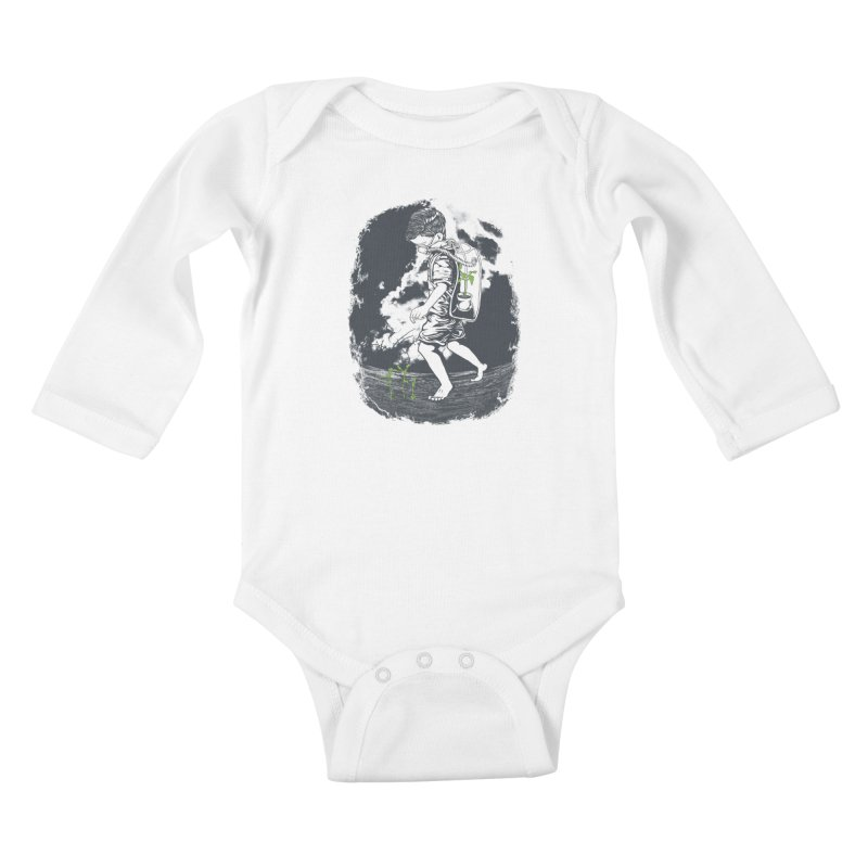 Before it's too late... Kids Baby Longsleeve Bodysuit by DesignsbyReg