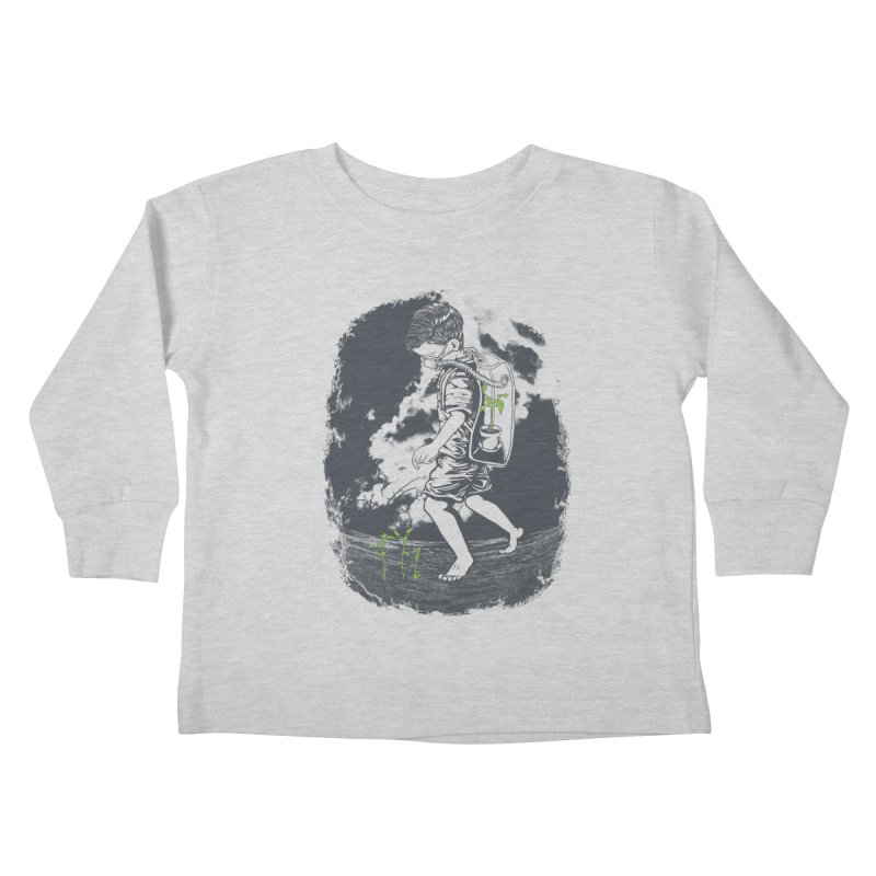 Before it's too late... Kids Toddler Longsleeve T-Shirt by DesignsbyReg
