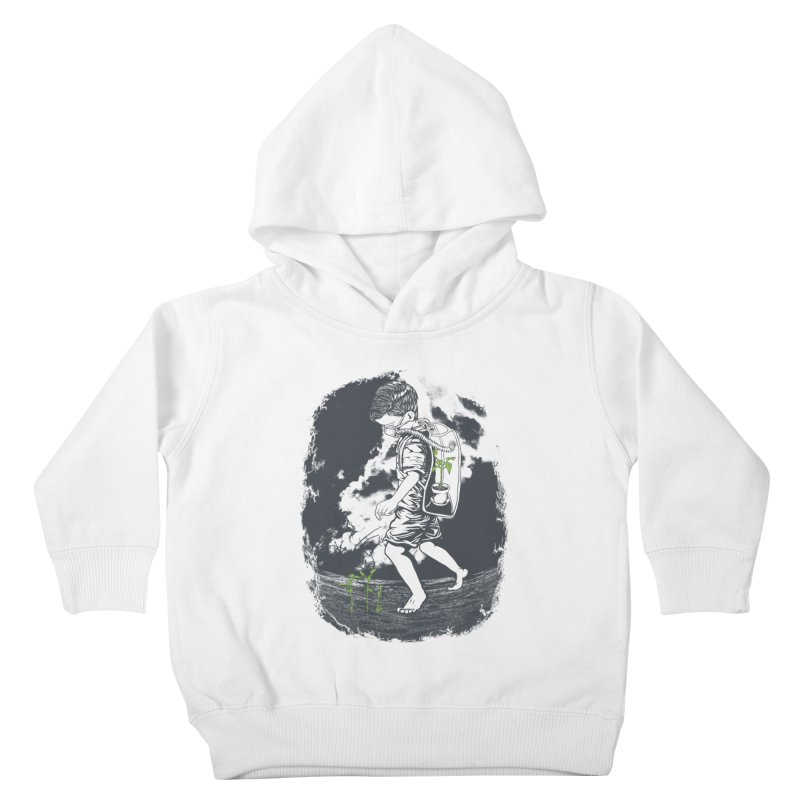 Before it's too late... Kids Toddler Pullover Hoody by DesignsbyReg