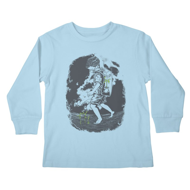 Before it's too late... Kids Longsleeve T-Shirt by DesignsbyReg