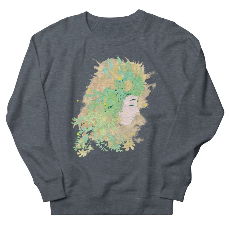 Lovely Women's French Terry Sweatshirt by DesignsbyReg