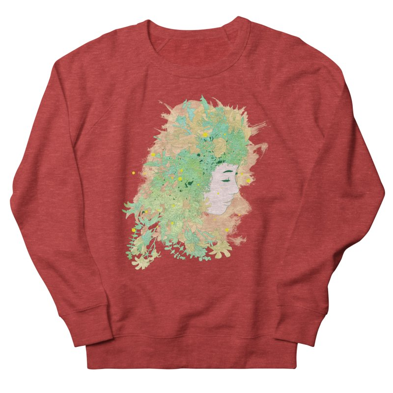 Lovely Women's French Terry Sweatshirt by DesignsbyReg