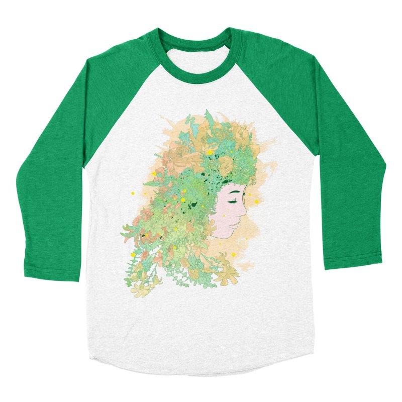 Lovely Women's Baseball Triblend Longsleeve T-Shirt by DesignsbyReg