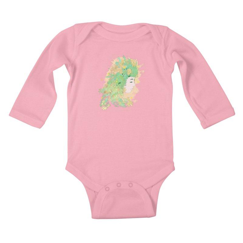 Lovely Kids Baby Longsleeve Bodysuit by DesignsbyReg