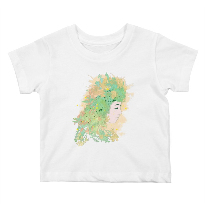 Lovely Kids Baby T-Shirt by DesignsbyReg