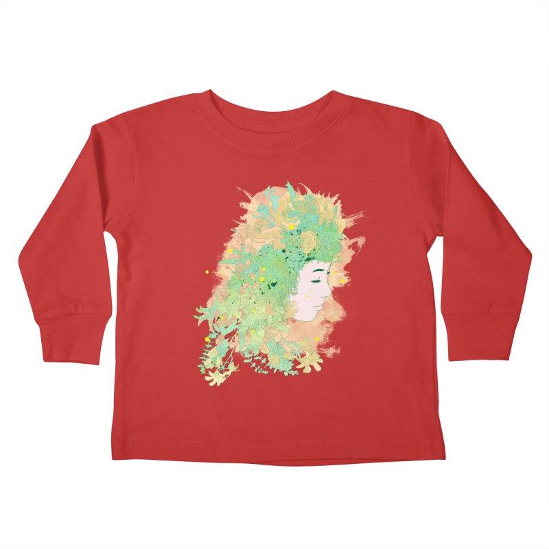 Lovely Kids Toddler Longsleeve T-Shirt by DesignsbyReg
