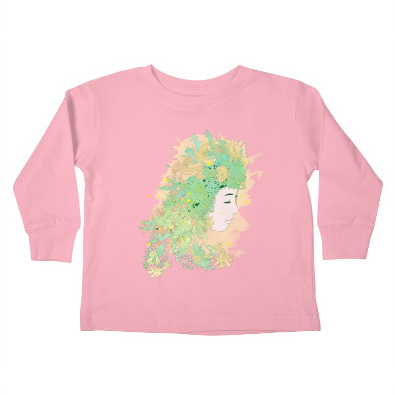 Lovely Kids Toddler Longsleeve T-Shirt by DesignsbyReg