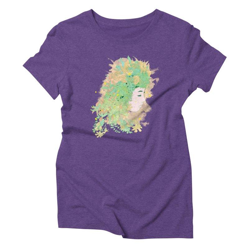 Lovely Women's Triblend T-Shirt by DesignsbyReg
