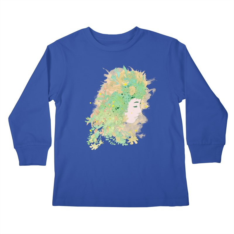 Lovely Kids Longsleeve T-Shirt by DesignsbyReg