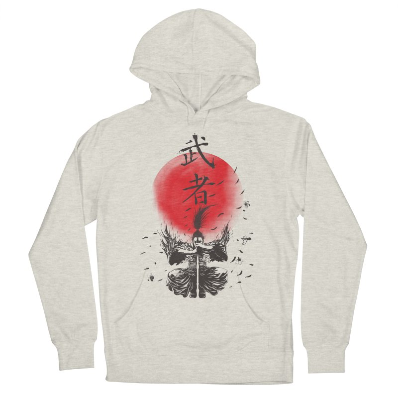 The Warrior Men's French Terry Pullover Hoody by DesignsbyReg