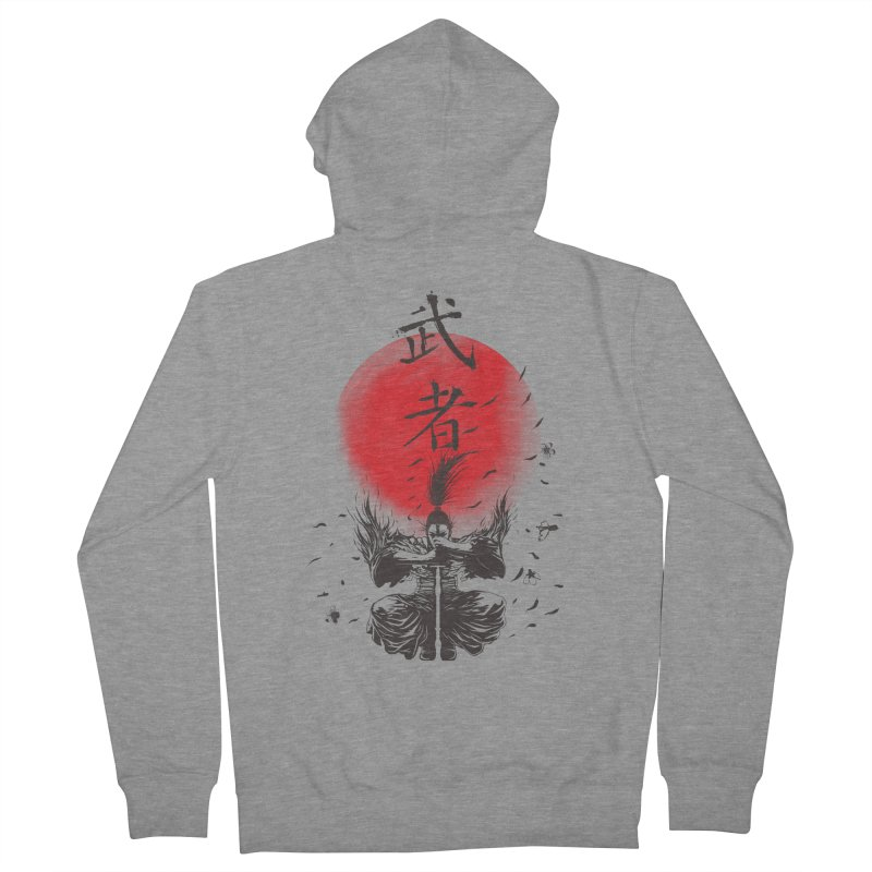 The Warrior Women's French Terry Zip-Up Hoody by DesignsbyReg