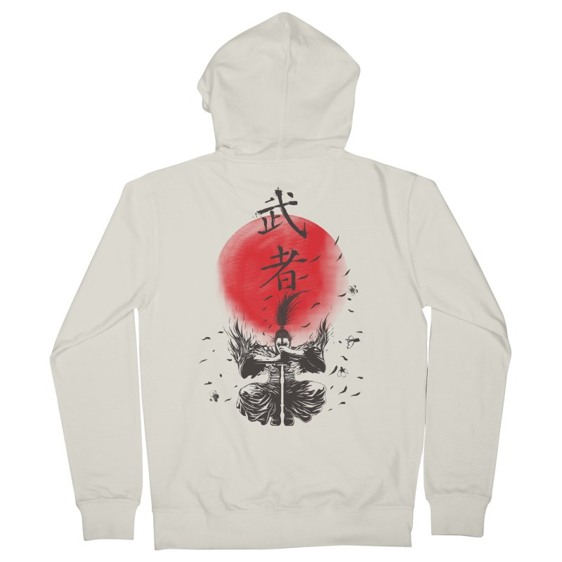 The Warrior Men's Zip-Up Hoody by DesignsbyReg