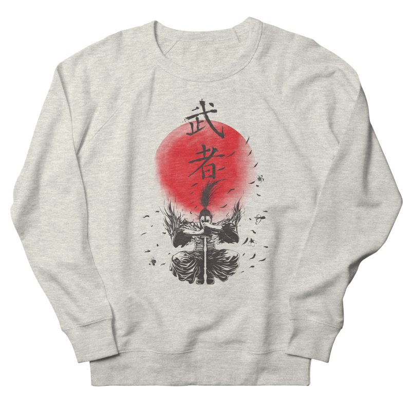 The Warrior Women's French Terry Sweatshirt by DesignsbyReg