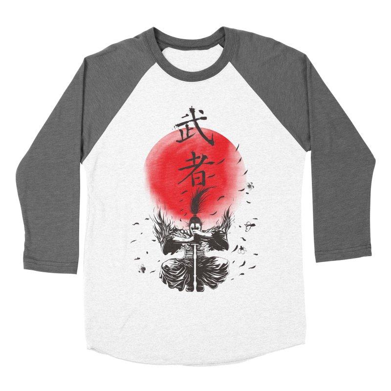The Warrior Men's Baseball Triblend T-Shirt by DesignsbyReg
