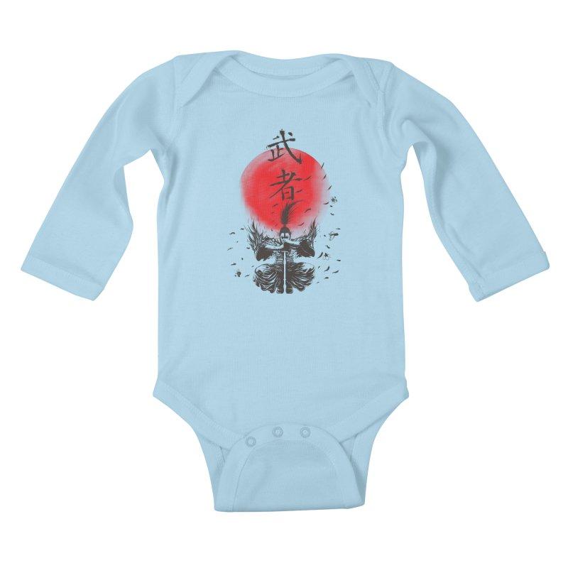 The Warrior Kids Baby Longsleeve Bodysuit by DesignsbyReg